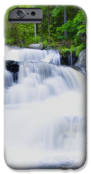 Waterfall in the Pocono Mountains iPhone Case by Bill Cannon