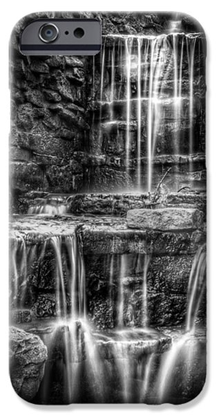 Creek iPhone Cases - Waterfall iPhone Case by Scott Norris