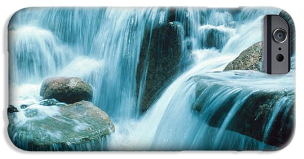 Temecula iPhone Cases - Waterfall Temecula Ca Usa iPhone Case by Panoramic Images