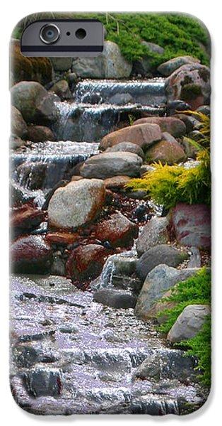 Waterfall iPhone Case by Tom Prendergast