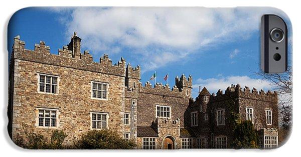 Enterprise iPhone Cases - Waterford Castle , County Waterford iPhone Case by Panoramic Images
