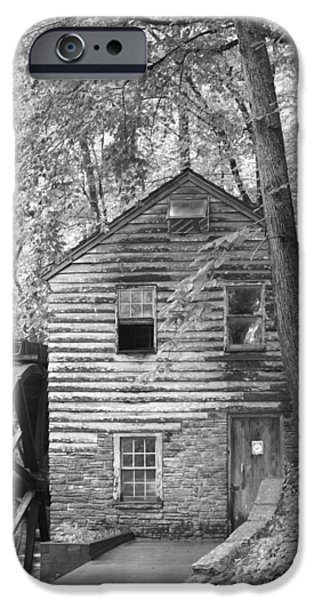 River iPhone Cases - Watermill Tennessee iPhone Case by Dwight Cook