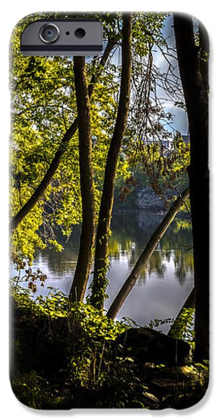 Waters Edge iPhone Case by Bob Orsillo