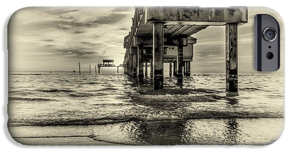 Gulf Shores iPhone Cases - Waters Edge iPhone Case by Marvin Spates