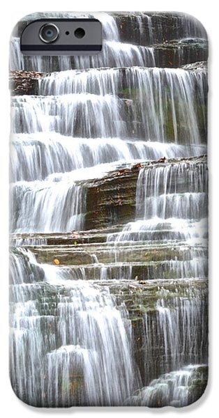 Inner Peace iPhone Cases - Waters Eternal Flow iPhone Case by Frozen in Time Fine Art Photography