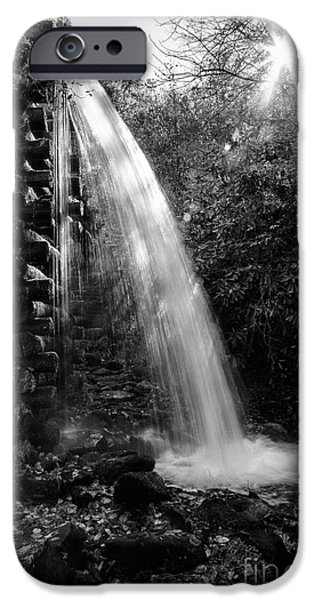 The White House Photographs iPhone Cases - Waters Flowing from the Mill iPhone Case by Terri Morris