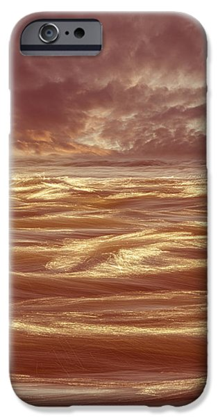 Waterscape Number Seven iPhone Case by Bob Orsillo