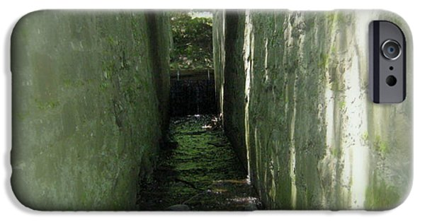 Blackstone River iPhone Cases - Waterway iPhone Case by Bruce Carpenter