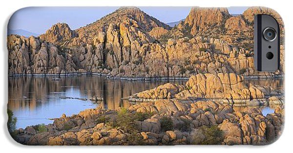 Watson Lake iPhone Cases - Watson Lake iPhone Case by Christian Heeb