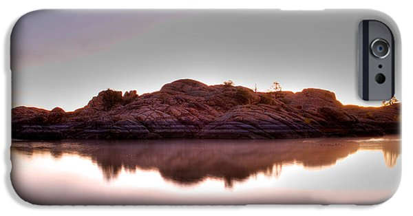 Watson Lake iPhone Cases - Watson lake iPhone Case by Doug Nelson