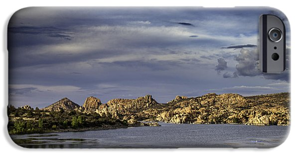 Watson Lake iPhone Cases - Watson Lake iPhone Case by James Bethanis