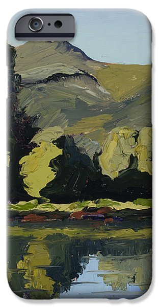 Watson Lake iPhone Case by Mary Giacomini