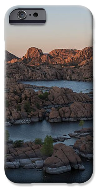 Watson Lake iPhone Case by Sylvia Beardsley