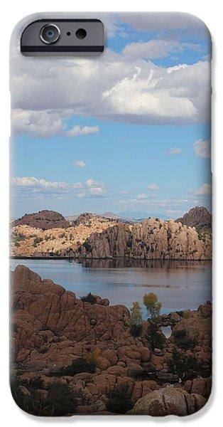Watson Lake iPhone Cases - Watson Lake iPhone Case by Valerie Loop