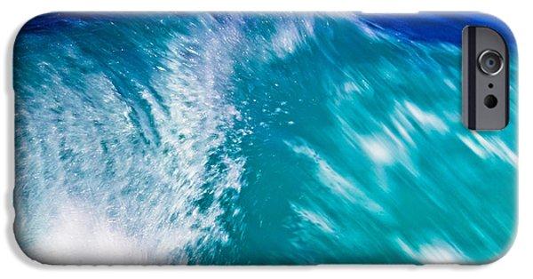 Edgar Laureano Photographs iPhone Cases - Wave 01 iPhone Case by Edgar Laureano