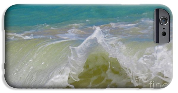 House Art iPhone Cases - Wave 3 iPhone Case by Cheryl Young