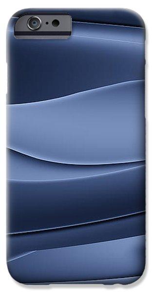 Wave art VI iPhone Case by Ludek Sagi Lukac