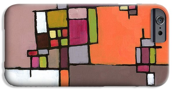 Abstract Expressionist iPhone Cases - Wave Collapse iPhone Case by Douglas Simonson