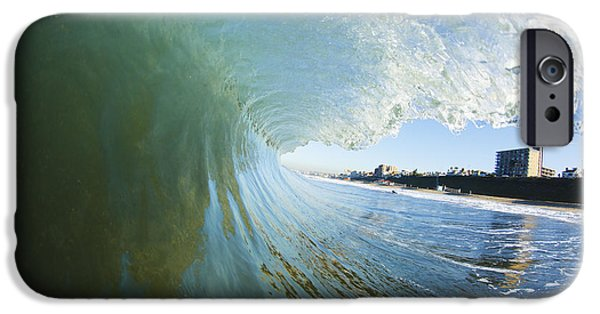 Building iPhone Cases - Wave on California Shore iPhone Case by MakenaStockMedia - Printscapes