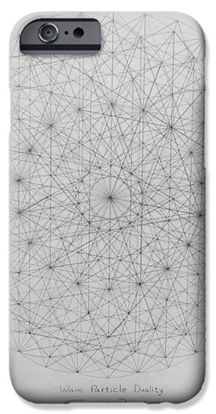 Wave Particle Duality Original iPhone Case by Jason Padgett