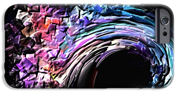 Board iPhone Cases - Wave iPhone Case by Sergio B