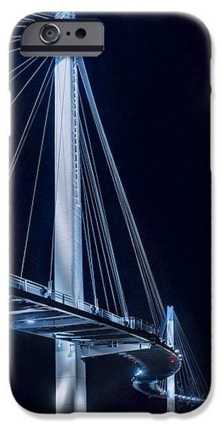 Nebraska iPhone Cases - Wavelength plus or minus 460 nm iPhone Case by Nikolyn McDonald