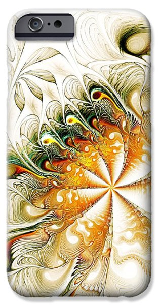 Anastasiya Mixed Media iPhone Cases - Waves and Pearls iPhone Case by Anastasiya Malakhova