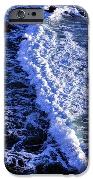 Sonoma iPhone Cases - Waves Pacific Ocean iPhone Case by Garry Gay