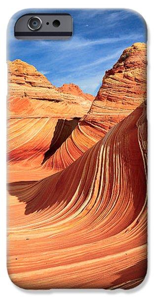 Wavy Bowl iPhone Case by Inge Johnsson