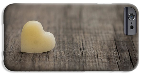 Love Photographs iPhone Cases - Wax heart iPhone Case by Aged Pixel