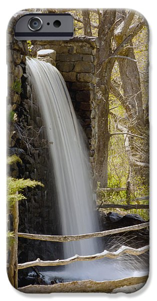 Sudbury Ma iPhone Cases - Wayside Grist Mill 7 iPhone Case by Dennis Coates