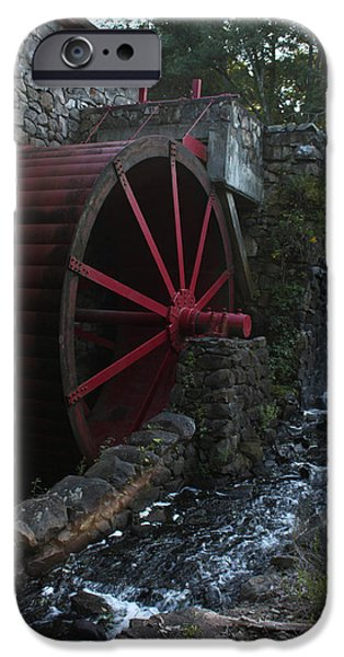 Grist Mill iPhone Cases - Wayside Inn II iPhone Case by Suzanne Gaff