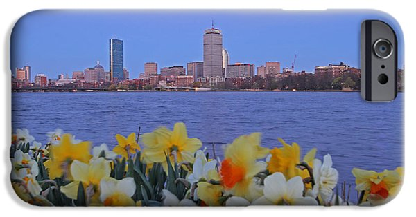 Charles River iPhone Cases - We are Boston iPhone Case by Juergen Roth