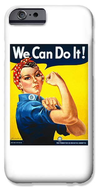 Recently Sold -  - Ww1 iPhone Cases - We Can Do It - WW2 iPhone Case by War Is Hell Store