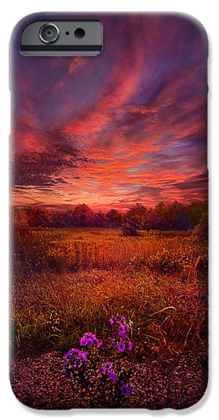 Twilight iPhone Cases - We Find Our Own Story iPhone Case by Phil Koch