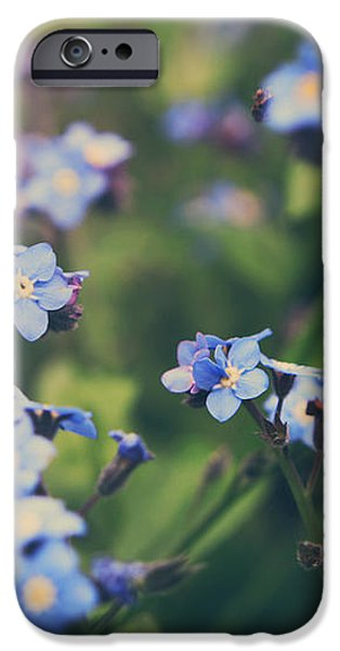 We Lay With the Flowers iPhone Case by Laurie Search