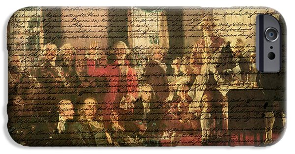 Constitution iPhone Cases - We the People iPhone Case by Bill Cannon