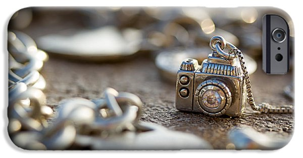 Sterling Silver iPhone Cases - Wear Your Camera iPhone Case by April Reppucci