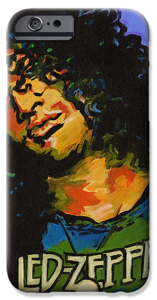 Slash Paintings iPhone Cases - Wearing and Tearing  iPhone Case by Tanya Filichkin