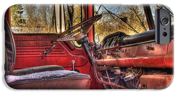 Old Truck iPhone Cases - Weathered and Worn  iPhone Case by Thomas Young
