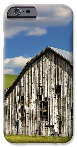 Weathered Barn Palouse iPhone Case by Carol Leigh