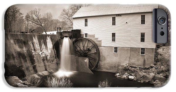 Historic Site iPhone Cases - Weathered Mill iPhone Case by Dan Carmichael