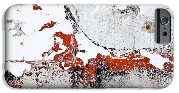 Abstract Digital Photographs iPhone Cases - Weathered Sign 1954 iPhone Case by Bob Hills