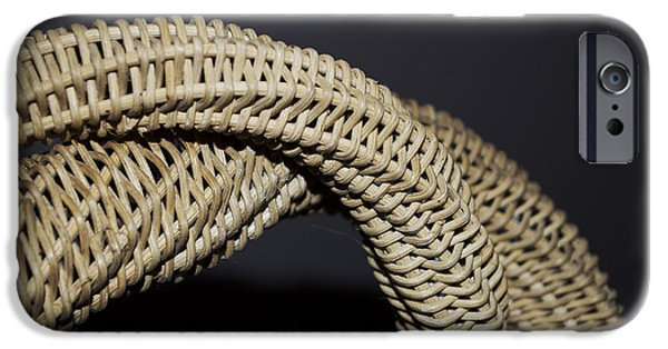 Relationship Sculptures iPhone Cases - Weave Dance iPhone Case by Daniel P Cronin