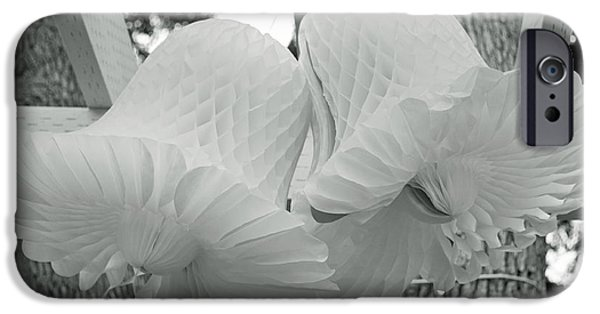 Wedding Bells iPhone Cases - Wedding Bells iPhone Case by Roger Reeves  and Terrie Heslop