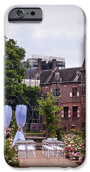 Wedding Setting in De Haar Castle. Utrecht iPhone Case by Jenny Rainbow
