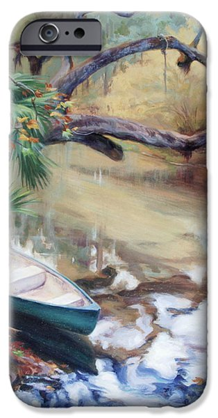 Recently Sold -  - Oak Creek iPhone Cases - Wekiva Autumn iPhone Case by Laura Bates