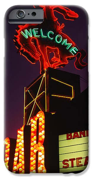 Industry iPhone Cases - Welcome Sign Of A Bar, Million Dollar iPhone Case by Panoramic Images