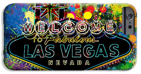 Sign iPhone Cases - Welcome to Las Vegas iPhone Case by Gary Grayson