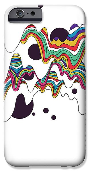 Beatles Digital Art iPhone Cases - Welcome to mars iPhone Case by Budi Kwan